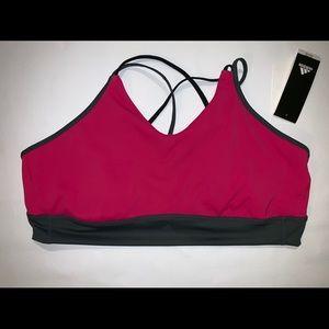 NWT Adidas Women's  Sports Bra Size 2X